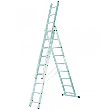 Аренда лестницы FORTE СЕ3х8, 5.25 метра.